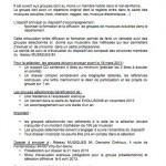 Appel à candidatures pour Evolusons 2013